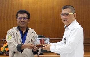 Kunjungan Mahasiswa Program Diploma III Teknik Sipil  Politeknik Negeri Sriwijaya ke PUSJATAN