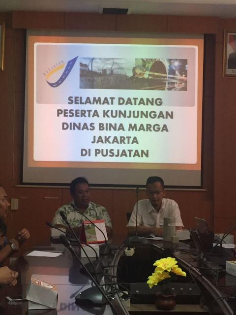Transfer Teknologi Overpass Pelangi Antapani Pusjatan kepada Dinas Bina Marga DKI Jakarta