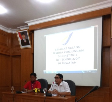 Kunjungan Study Banding Dili Institute of Technology, Timor Leste Ke Pusjatan