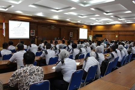 Pusjatan Menerima Kunjungan Taruna Taruni STTD Bekasi