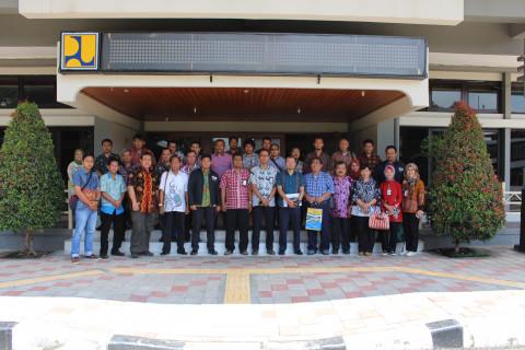 Kunjungan Pembekalan Ilmu Perkerasan Jalan,  Dinas Bina Marga DKI Jakarta ke Pusjatan