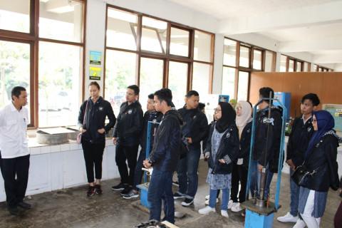Pemaparan Teknologi Hasil Litbang dalam Kunjungan  Mahasiswa Politeknik Negeri Sriwijaya