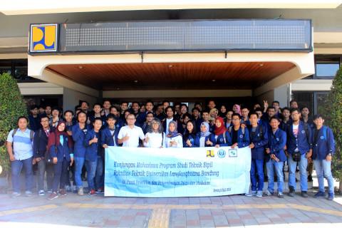 Mahasiswa UNLA Pelajari Ilmu Teknik Sipil di Pusjatan