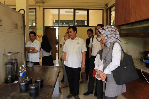 BPK Perwakilan Jawa Barat Lakukan Studi Banding ke Pusjatan