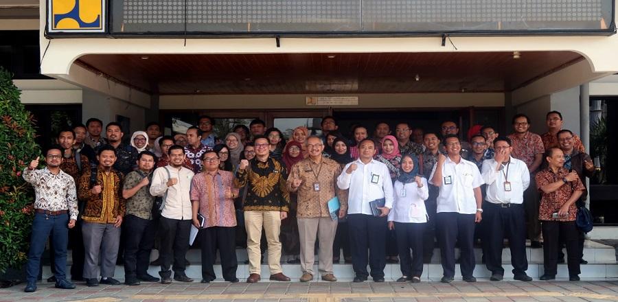 Badan Pemeriksa Keungan Perwakilan Jawa Barat melakukan Studi Banding