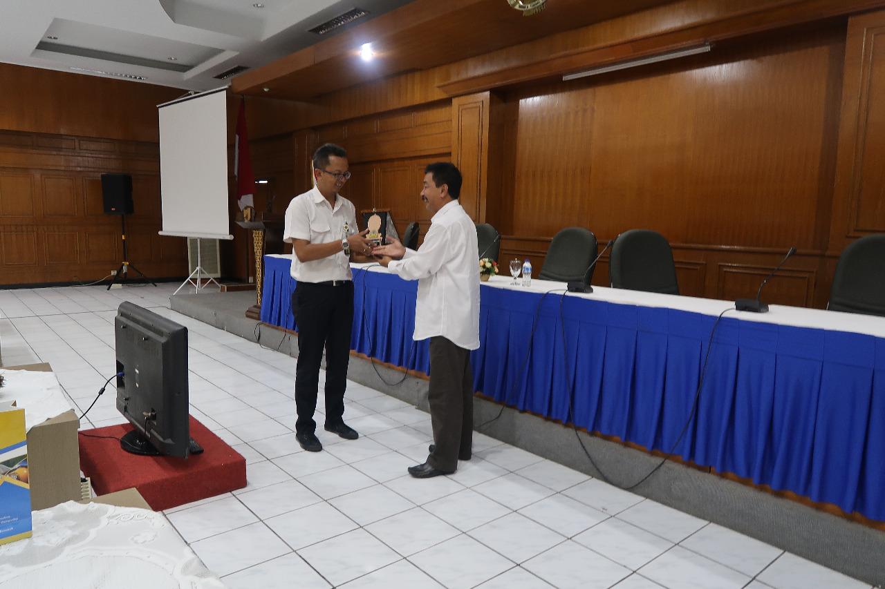 Pusjatan menerima kunjungan Dinas Pekerjaan Umum dan Penataan Ruang Kabupaten Batang