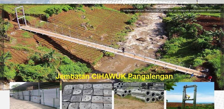 Jembatan Judesa Pangalengan CIHAWUK