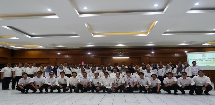 Pelantikan Jabatan Fungsional 2019