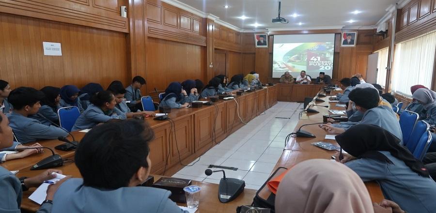 Kunjungan Mahasiswa Program Teknik Sipil Universitas Pendidikan Indonesia