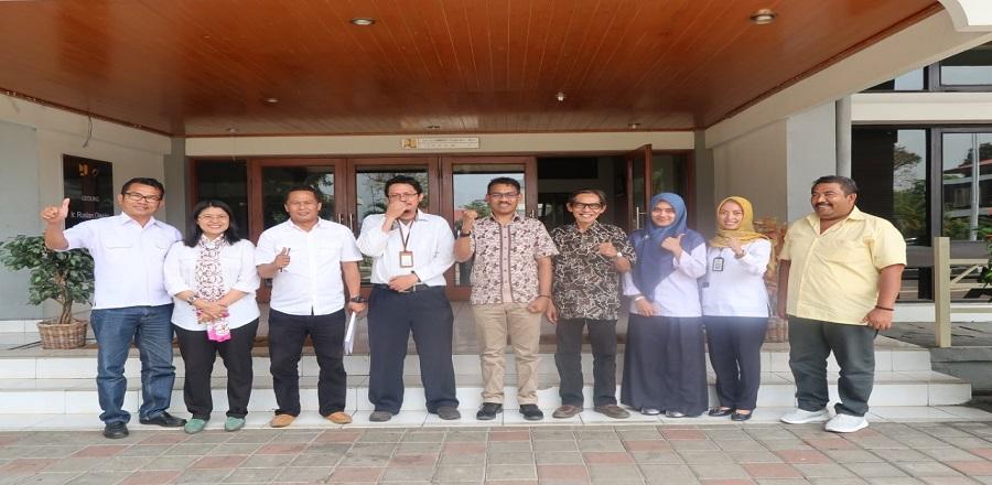 Kunjungan Dinas Pekerjaan Umum dan Perumahan Rakyat pemerintah Provinsi Nusa Tenggara Timur