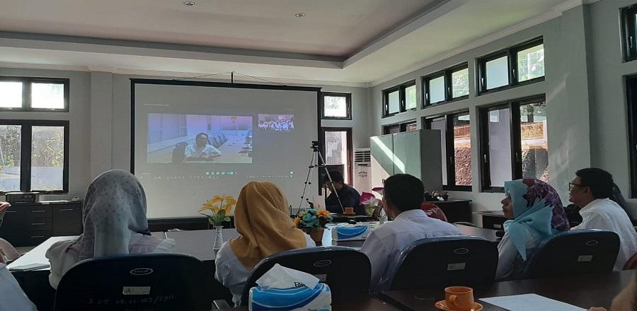 Telekonferensi Pertama Loka Litbang Asbuton dengan Kapusjatan