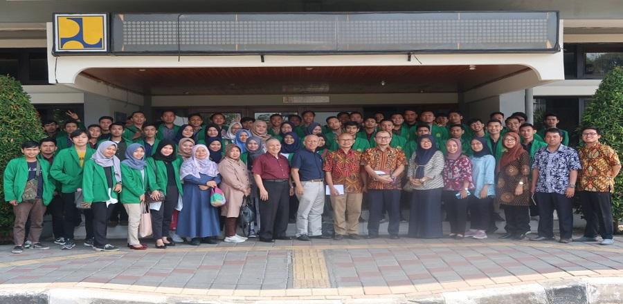 Kunjungan Mahasiswa Program Studi Teknik Sipil Universitas Muhammadiyah Palembang