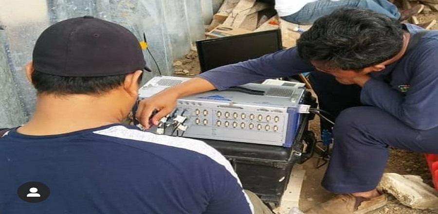 Teknologi material lokal untuk jalan di Morotai