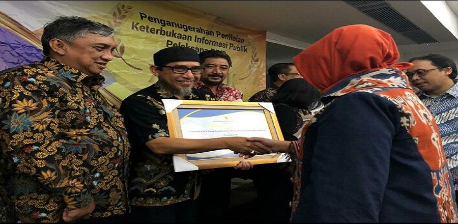 Penganugrahan Penilaian Keterbukaan Informasi Publik Pelaksana PPID Kementerian PUPR 2019
