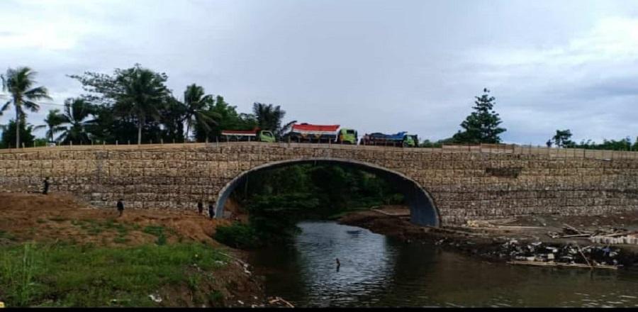Teknologi Corrugated Mortar Pusjatan (CMP) dan Corrugated Gabion Pusjatan (CGP) untuk jembatan di M
