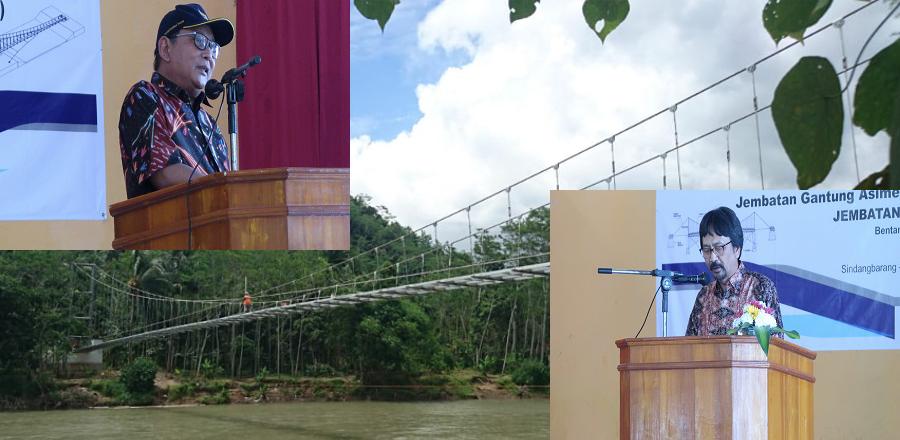 Peresmian Jembatan Untuk Desa Asimetris (JuDesA)