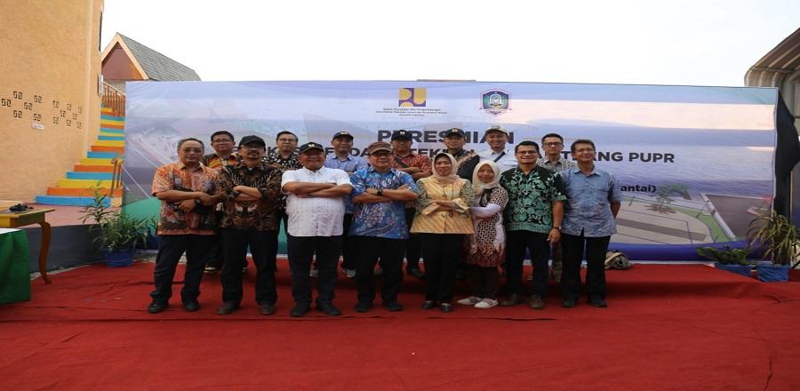 Peresmian Produk Litbang di Morotai